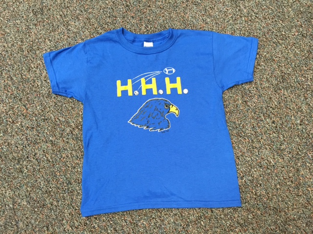 NEW! Blue Crewneck Spirit Shirt in Men's, Women's & Youth Sizes